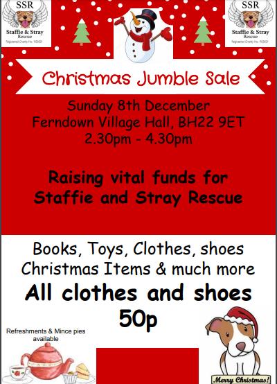 Christmas Jumble Sale 2019