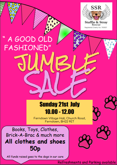 Jumble Sale Dorset